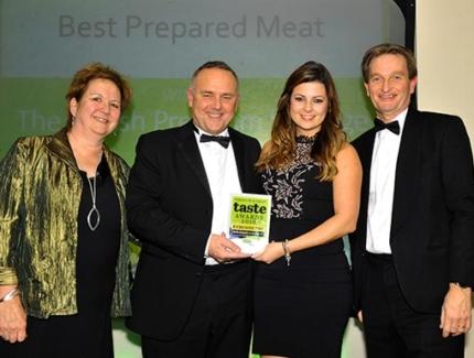 British Premium Sausages win 'Taste Award 2016'